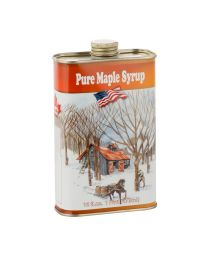Decorative Tin Maple Syrup