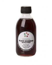 Black Bourbon Maple Syrup