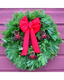 Greens Of Vermont Wreath