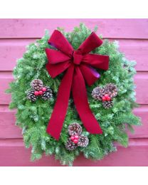 Traditional Balsam Wreath