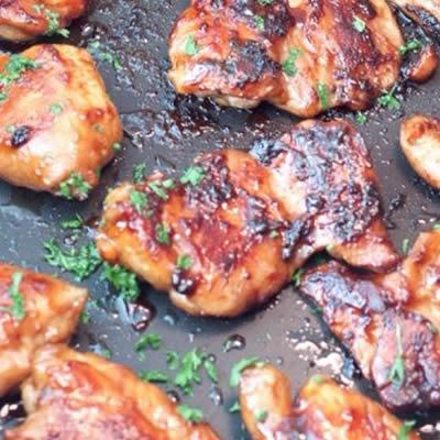 Maple Soy Glazed Chicken